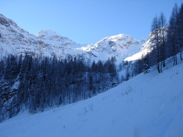 Foto: Manfred Karl / Ski Tour / Liebeseck, 2303m / 24.12.2008 06:04:56