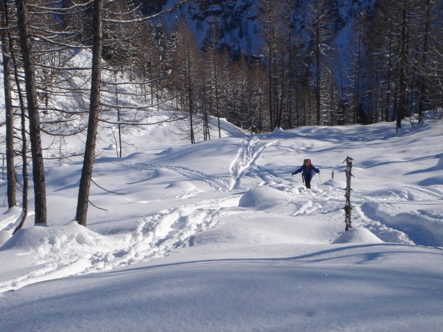 Foto: Manfred Karl / Skitour / Liebeseck, 2303m / 24.12.2008 06:04:45