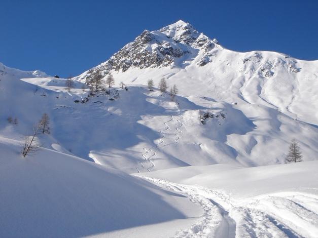 Foto: Manfred Karl / Ski Tour / Liebeseck, 2303m / Das formschöne Liebeseck / 24.12.2008 06:04:20