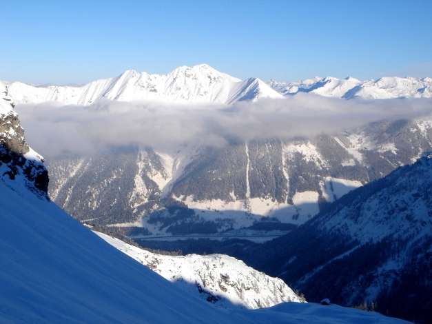 Foto: Manfred Karl / Ski Tour / Liebeseck, 2303m / 24.12.2008 05:59:29