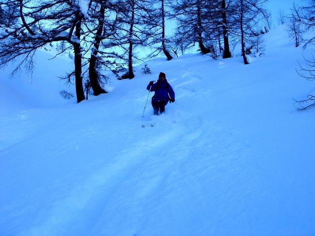 Foto: Manfred Karl / Ski Tour / Liebeseck, 2303m / 24.12.2008 05:59:01