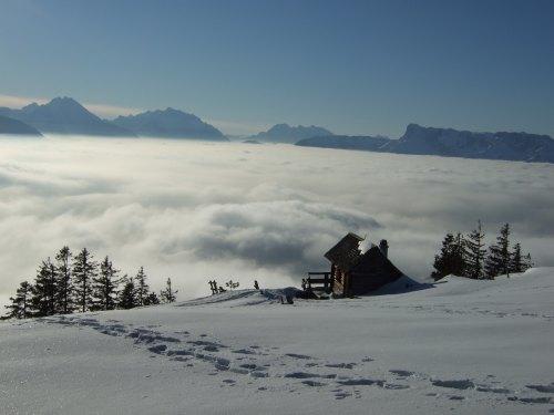 Foto: hofchri / Skitour / Eibleck, 1518m / 08.01.2009 20:22:33