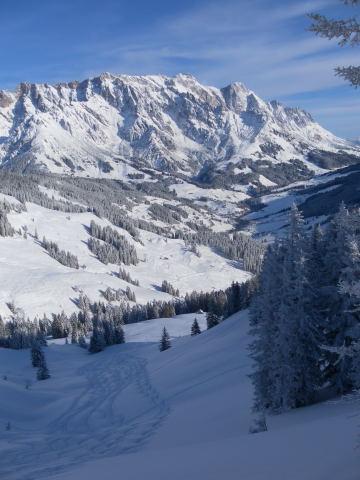 Foto: Wolfgang Lauschensky / Ski Tour / Grinnköpfl (1707m) / Nordostabfahrt Richtung Lettenalm. Hochkönig / 18.12.2011 20:57:17