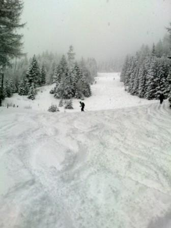 Foto: Hupo / Ski Tour / Kreuzschober (1410m)  / Mittelteil pistenähnlich / 06.01.2010 10:27:22