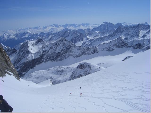 Foto: gre weg / Ski Tour / Lisenser Fernerkogel, 3298m / am Gletscher / 23.04.2008 08:22:16