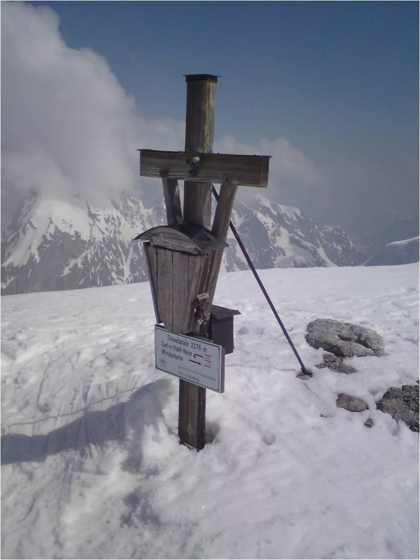 Foto: gumpiand / Skitour / Schneibstein, 2276m - Kleine Reibn / 10.10.2009 09:25:31