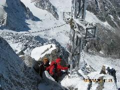 Foto: mucho / Ski Tour / Großer Löffler, 3379m / winterliche Verhältnisse / 26.08.2008 12:25:48