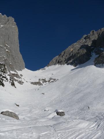 Foto: Wolfgang Lauschensky / Ski Tour / Hintere Goinger Halt, 2192m / Kübelkar zum Ellmauer Tor / 12.01.2011 18:39:37