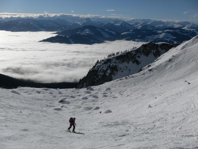 Foto: Wolfgang Lauschensky / Ski Tour / Hintere Goinger Halt, 2192m / Kübelkar vor Kitzbüheler Alpen / 12.01.2011 18:39:23
