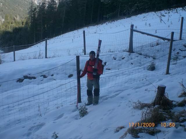 Foto: Atzi / Skitour / Schafferkogel / vorbei an der Wiederaufforstung / 31.01.2009 19:17:24