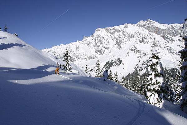 Foto: Christian Schickmayr / Ski Tour / Schneebergkreuz, 1938m / 22.03.2011 11:21:10