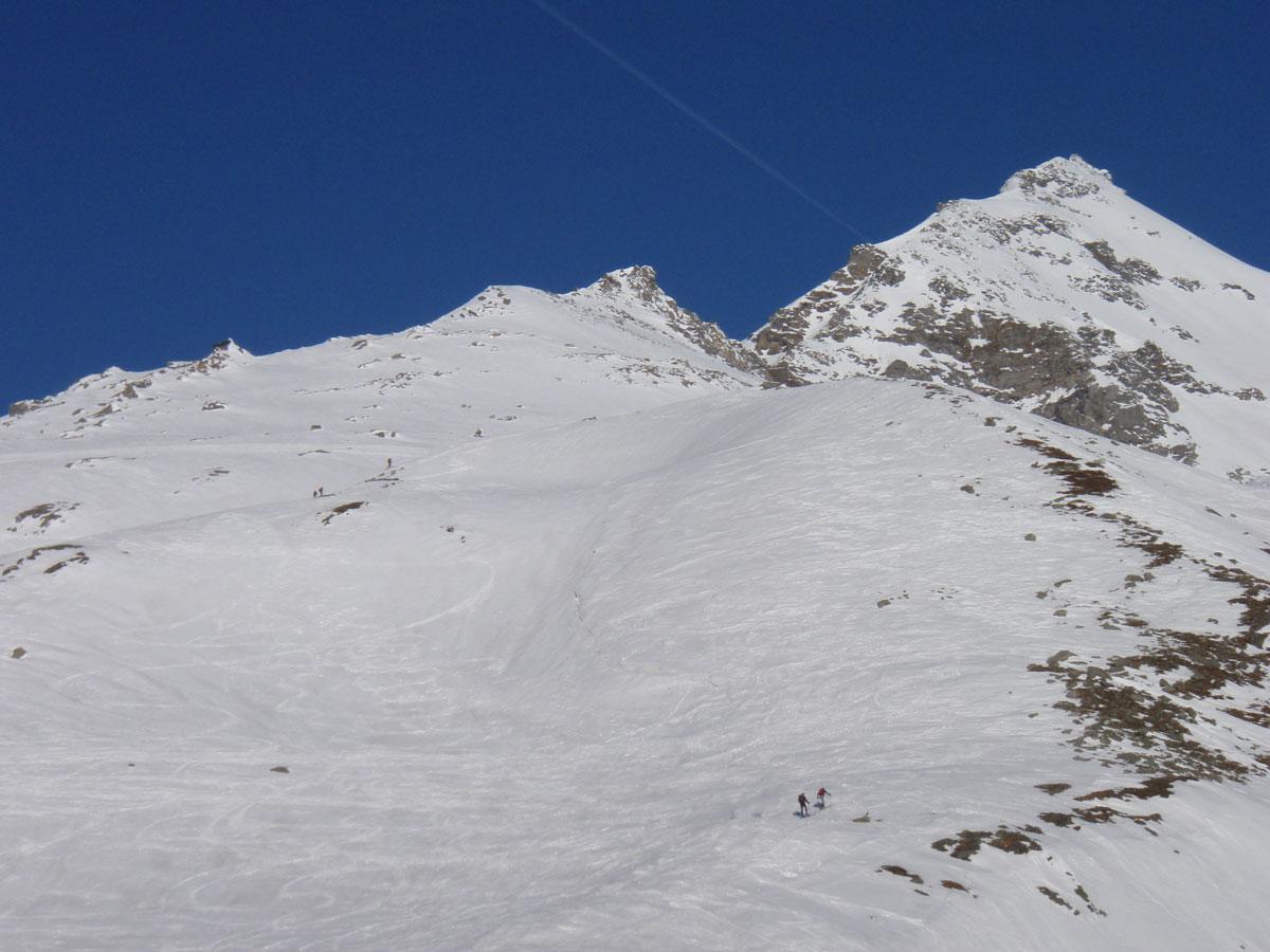 Foto: Grasberger Gerhard / Ski Tour / Hoher Sonnblick, 3106m / Kurz unter der Rojacherhütte. / 14.04.2009 12:55:58