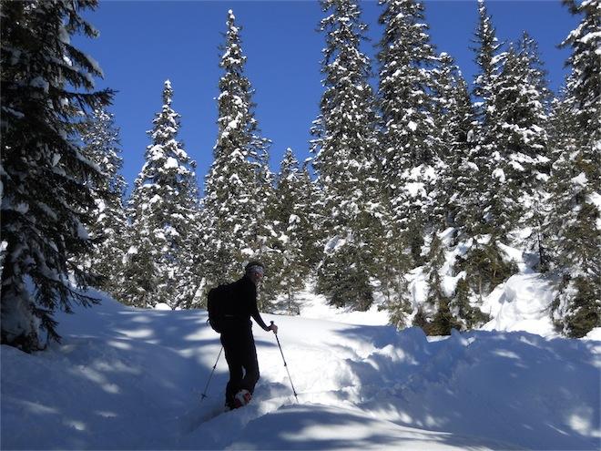 Foto: ksc / Ski Tour / Von Gosau auf den Hoch Kalmberg, 1833m / 30.01.2011 13:31:35