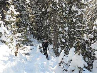 Foto: ksc / Ski Tour / Von Gosau auf den Hoch Kalmberg, 1833m / 30.01.2011 13:29:52
