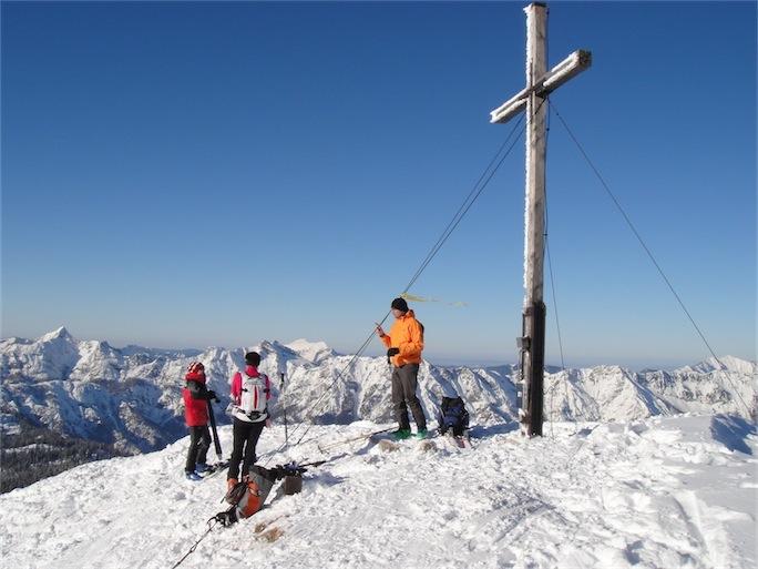 Foto: ksc / Ski Tour / Von Gosau auf den Hoch Kalmberg, 1833m / 30.01.2011 13:30:26