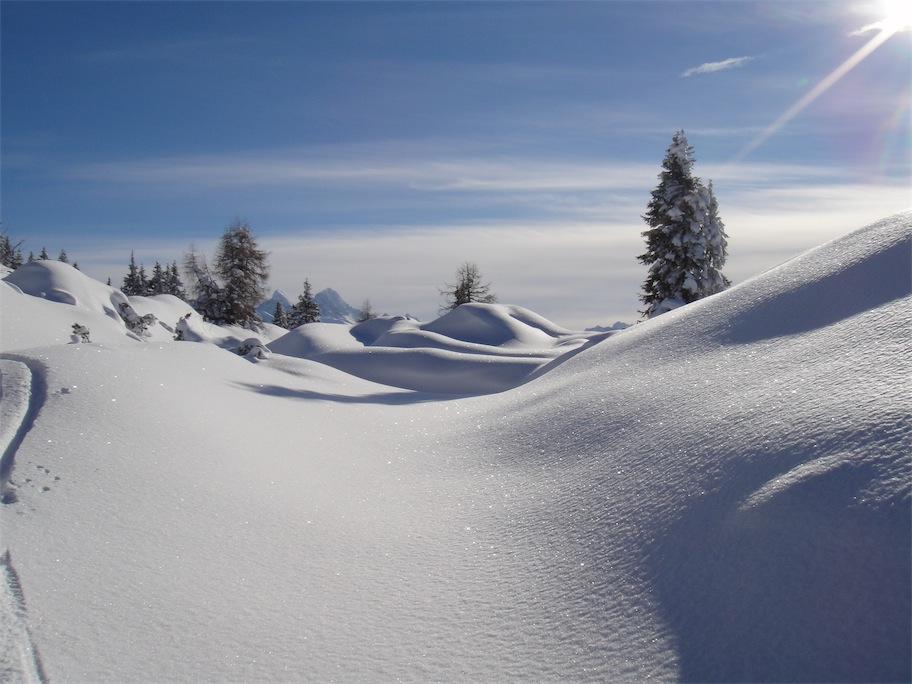 Foto: ksc / Ski Tour / Von Gosau auf den Hoch Kalmberg, 1833m / 30.01.2011 13:30:43