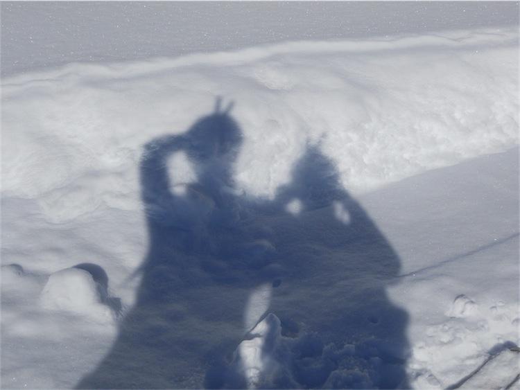 Foto: ksc / Ski Tour / Von Gosau auf den Hoch Kalmberg, 1833m / 30.01.2011 13:31:06