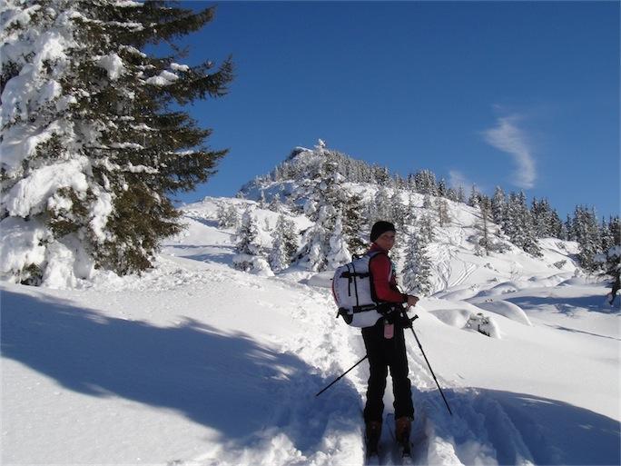 Foto: ksc / Ski Tour / Von Gosau auf den Hoch Kalmberg, 1833m / 30.01.2011 13:31:19