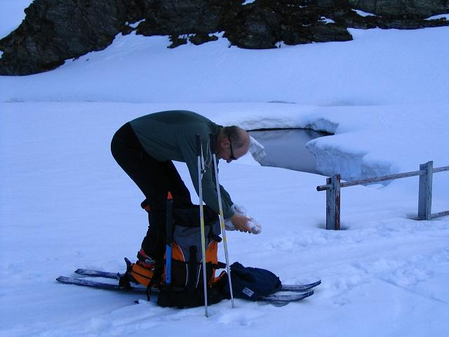 Foto: Andreas Koller / Ski Tour / Vom Enzingerboden auf den Hocheiser, 3206m / 29.01.2009 19:56:15