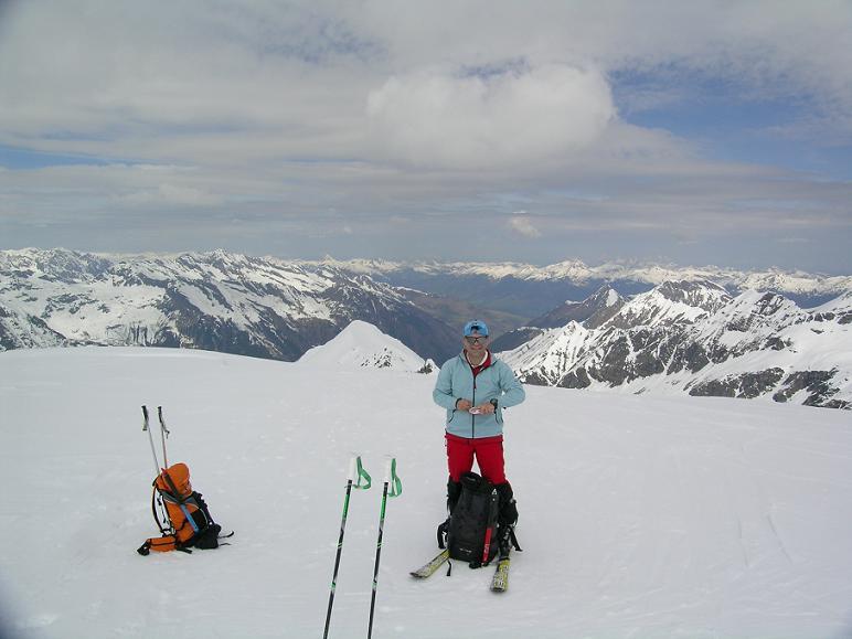 Foto: Andreas Koller / Ski Tour / Vom Enzingerboden auf den Hocheiser, 3206m / 29.01.2009 19:54:28