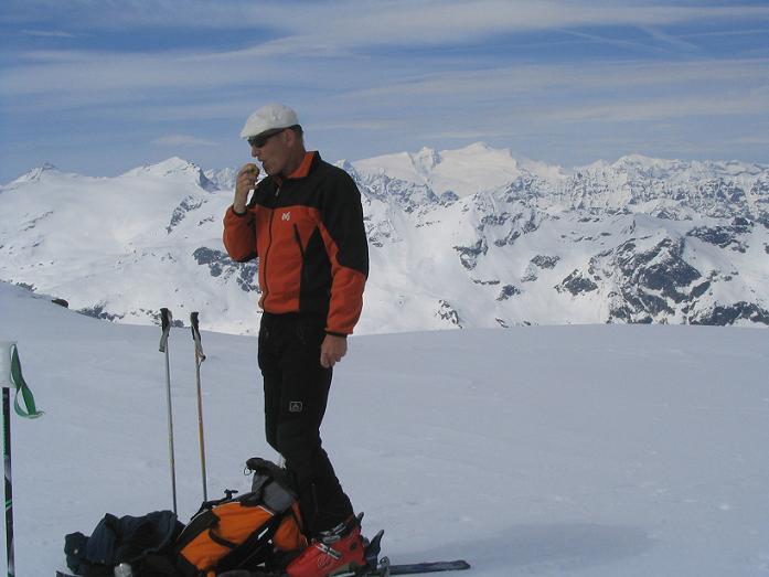 Foto: Andreas Koller / Ski Tour / Vom Enzingerboden auf den Hocheiser, 3206m / 29.01.2009 19:54:20
