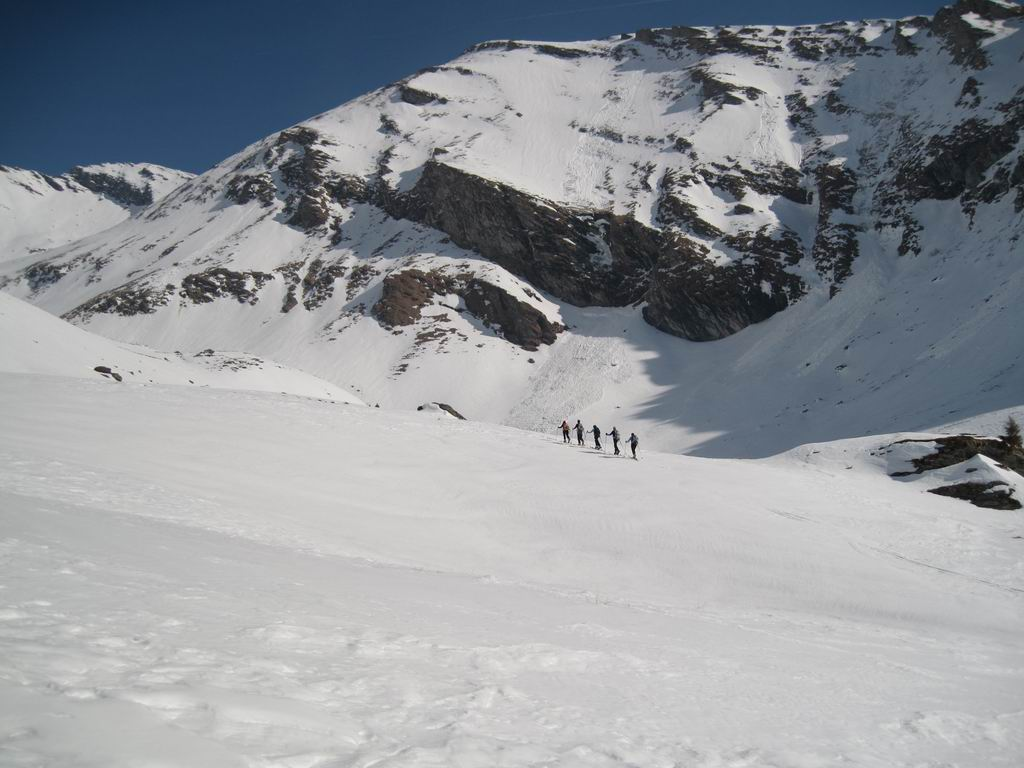 Foto: Heidi Schützinger / Ski Tour / Reitereck, 2790m / Aufstieg entlang des Poisnig / 21.03.2010 08:13:23