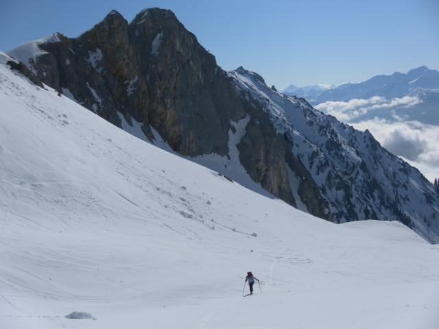Foto: Wolfgang Lauschensky / Ski Tour / Scheichenspitze - Gruberkar / Mitterstein / 22.03.2012 16:46:22