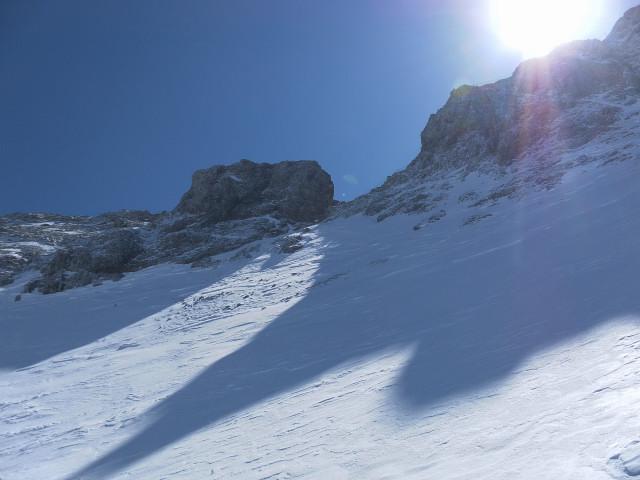 Foto: Wolfgang Lauschensky / Ski Tour / Scheichenspitze - Gruberkar / Westgrat zur Scheichenspitze / 22.03.2012 16:45:09