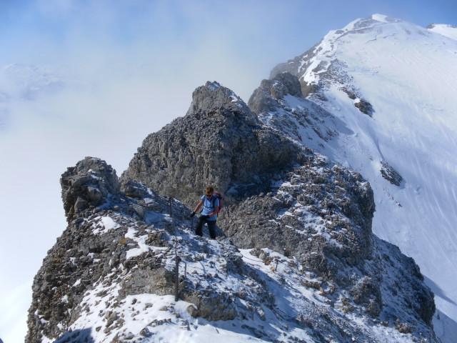 Foto: Wolfgang Lauschensky / Ski Tour / Scheichenspitze - Gruberkar / Ramsauer Klettersteig / 22.03.2012 16:44:58