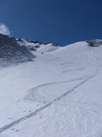 Foto: Wolfgang Lauschensky / Ski Tour / Scheichenspitze - Gruberkar / nordseitiges Gipfelkar / 22.03.2012 16:44:20