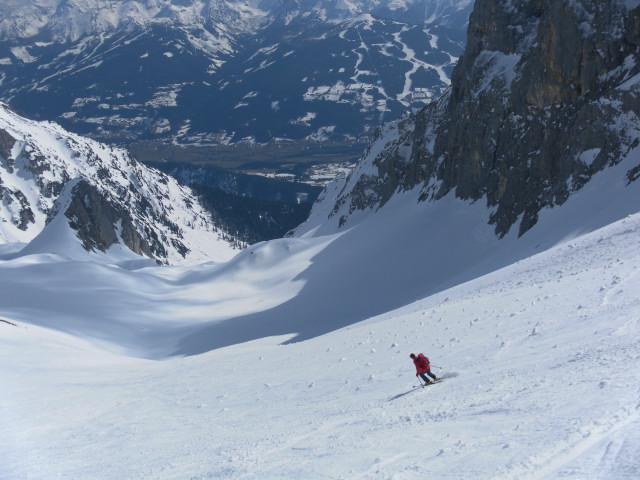 Foto: Wolfgang Lauschensky / Ski Tour / Scheichenspitze - Gruberkar / Abfahrt ins Gruberkar / 22.03.2012 16:44:11
