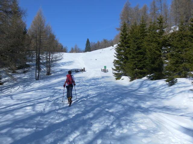 Foto: Wolfgang Lauschensky / Ski Tour / Zechnerkarspitze, 2452m / bei der Granitzlalm / 09.10.2011 15:15:48