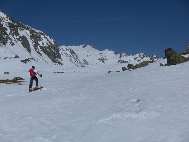 Foto: Wolfgang Lauschensky / Skitour / Zechnerkarspitze, 2452m / Im Zechnerkar / 09.10.2011 15:14:18