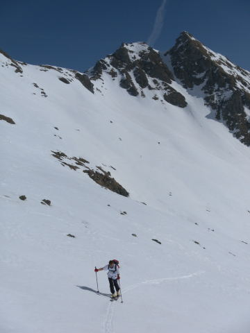 Foto: Wolfgang Lauschensky / Skitour / Zechnerkarspitze, 2452m / Granitzstein / 09.10.2011 15:14:11