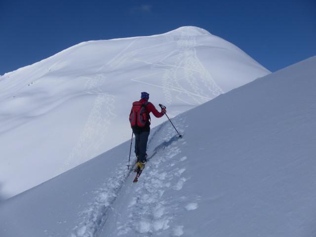 Foto: Wolfgang Lauschensky / Ski Tour / Zirmkogel (2215m) / Zustieg zur Klammscharte / 12.02.2013 17:00:42