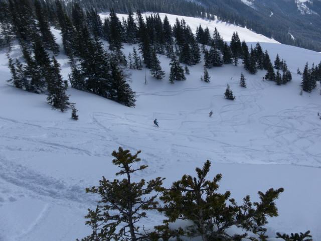 Foto: Wolfgang Lauschensky / Ski Tour / Zirmkogel (2215m) / oberhalb der Gitschalm / 12.02.2013 16:59:40