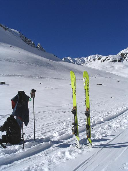 Foto: Andreas Koller / Ski Tour / Vom Rifflsee auf den Wurmtaler Kopf (3225m) / 27.01.2009 20:15:24