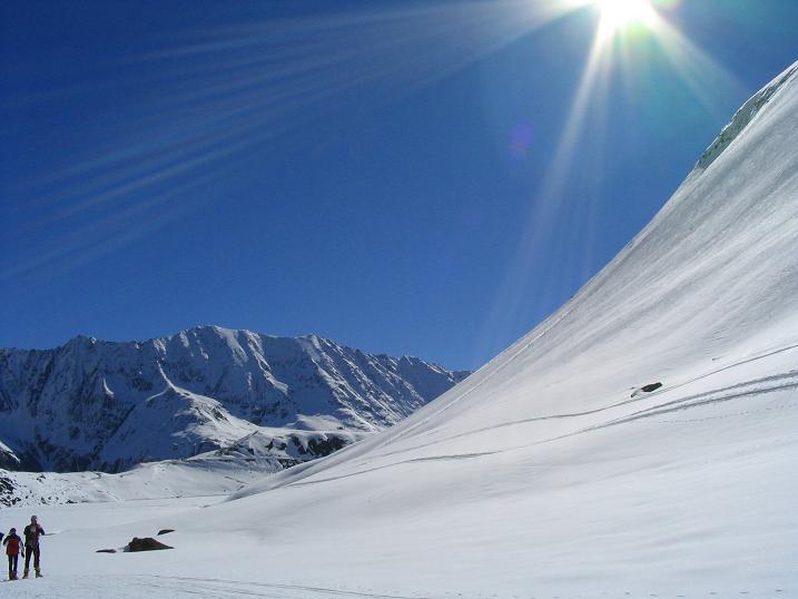 Foto: Andreas Koller / Ski Tour / Vom Rifflsee auf den Wurmtaler Kopf (3225m) / 27.01.2009 20:15:20