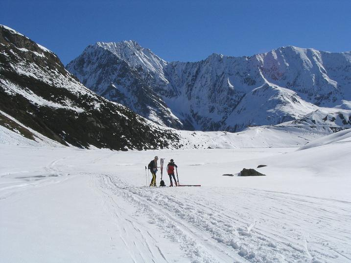 Foto: Andreas Koller / Ski Tour / Vom Rifflsee auf den Wurmtaler Kopf (3225m) / 27.01.2009 20:15:16