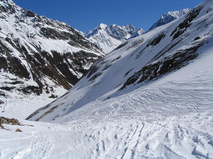 Foto: Andreas Koller / Ski Tour / Vom Rifflsee auf den Wurmtaler Kopf (3225m) / 27.01.2009 20:15:06