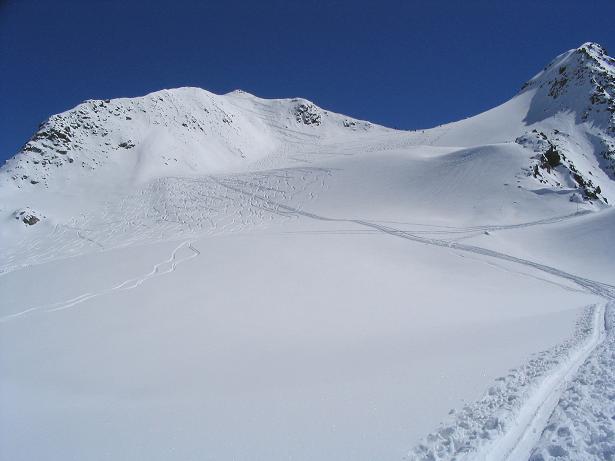 Foto: Andreas Koller / Ski Tour / Vom Rifflsee auf den Wurmtaler Kopf (3225m) / 27.01.2009 20:14:03