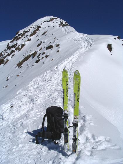 Foto: Andreas Koller / Ski Tour / Vom Rifflsee auf den Wurmtaler Kopf (3225m) / 27.01.2009 20:13:25