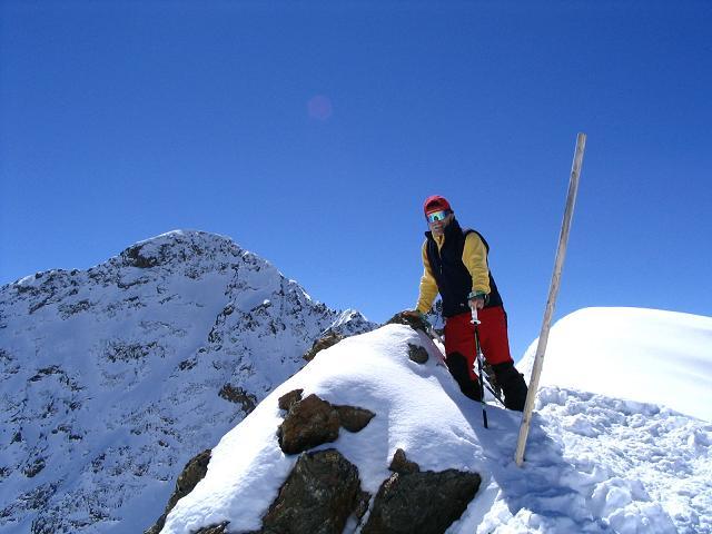Foto: Andreas Koller / Ski Tour / Vom Rifflsee auf den Wurmtaler Kopf (3225m) / 27.01.2009 20:13:19