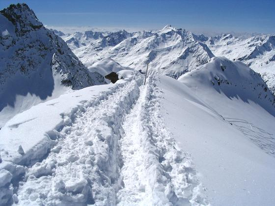 Foto: Andreas Koller / Ski Tour / Vom Rifflsee auf den Wurmtaler Kopf (3225m) / 27.01.2009 20:13:06