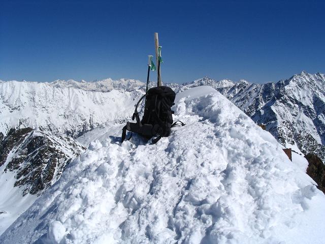 Foto: Andreas Koller / Ski Tour / Vom Rifflsee auf den Wurmtaler Kopf (3225m) / 27.01.2009 20:13:01