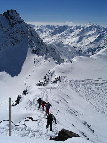 Foto: Andreas Koller / Ski Tour / Vom Rifflsee auf den Wurmtaler Kopf (3225m) / 27.01.2009 20:12:14
