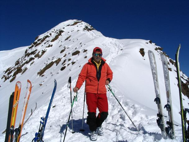 Foto: Andreas Koller / Ski Tour / Vom Rifflsee auf den Wurmtaler Kopf (3225m) / 27.01.2009 20:12:06