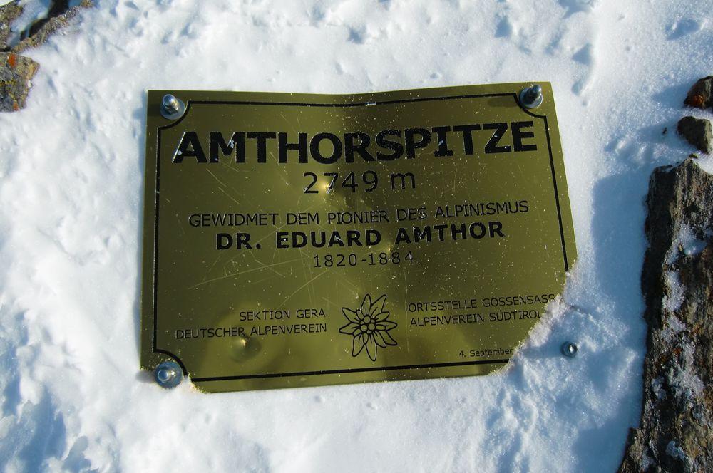 Foto: Thomas Paschinger / Ski Tour / Von Dax auf die Amthorspitze (2748m) / 12.02.2010 15:23:37
