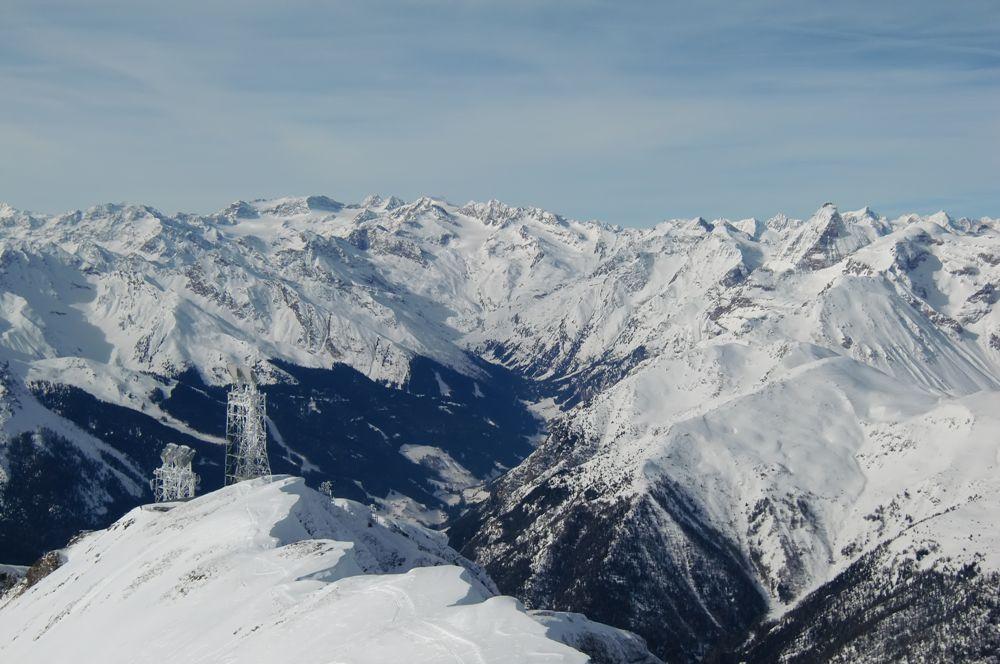 Foto: Thomas Paschinger / Ski Tour / Von Dax auf die Amthorspitze (2748m) / übers Pflerschtal Richtung Stubaier Gletscher / 12.02.2010 15:16:27