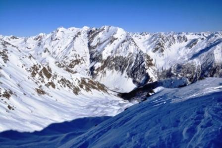 Foto: Milan Sova / Skitour / Plattspitz (2669m) / Wurmaulspitz mit Stilonrinne / 04.02.2011 16:50:43